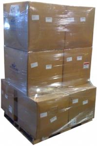 Eight cardboard cartons (28