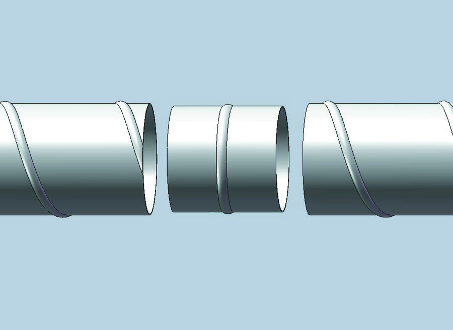 COUP Pipe to Pipe Coupling