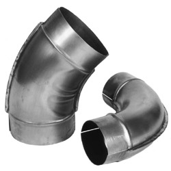 Stainless Pipe and Fittings for Industrial Ventilation Systems